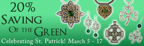 Save 20% for St. Patricks Day