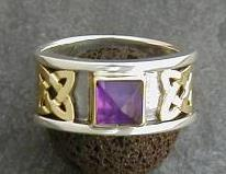 Konya Ring with Amethyst