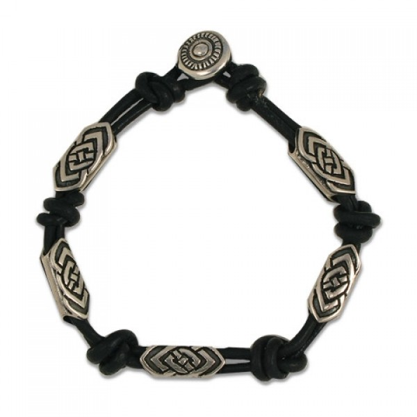 Skyler Leather Bracelet