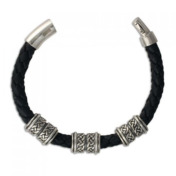 Arturo 8mm Leather Bracelet