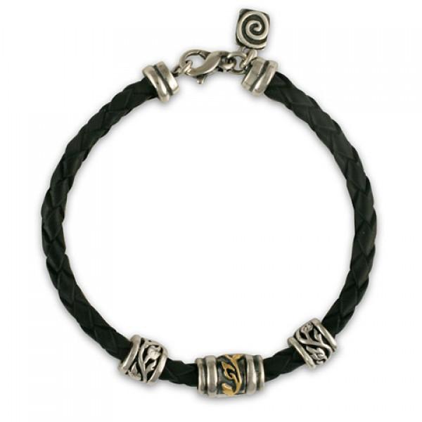 Flores Leather Bracelet