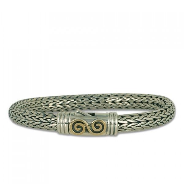 Infinity Spiral Bracelet