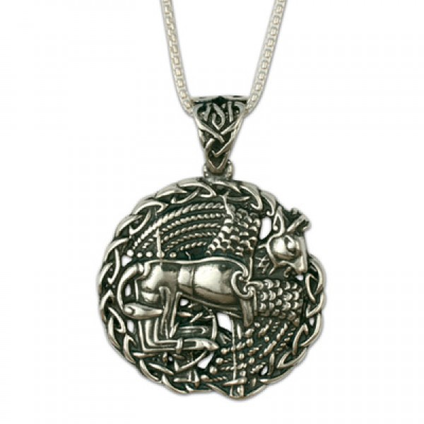 Taurus the Bull Pendant on Chain (Small)