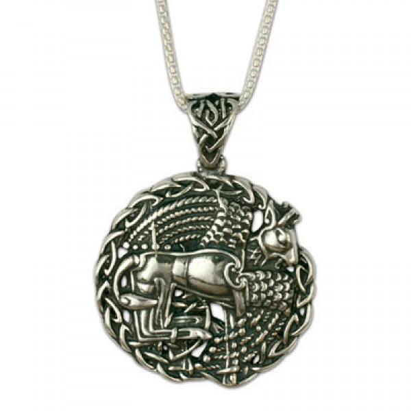 Taurus the Bull Pendant on Chain (Small)