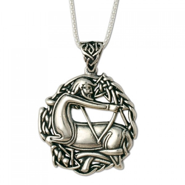 Sagittarius the Centaurt Pendant on Chain (Small)