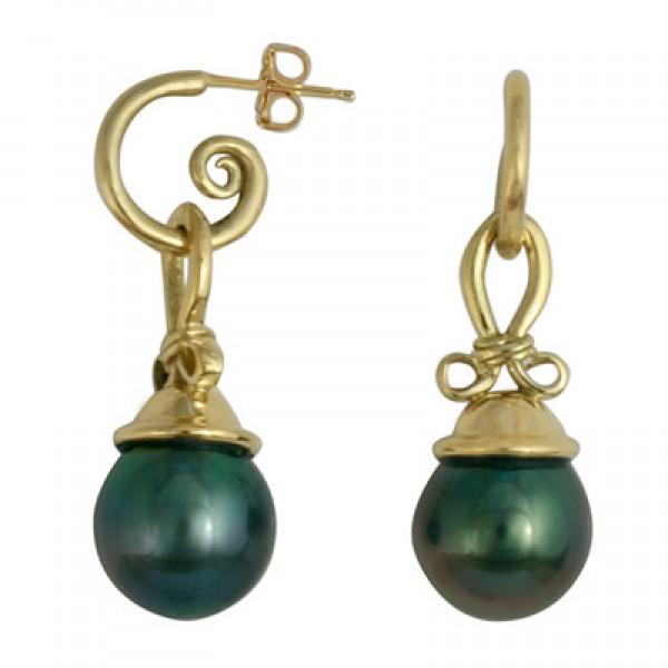 Pearl Knot Earrings
