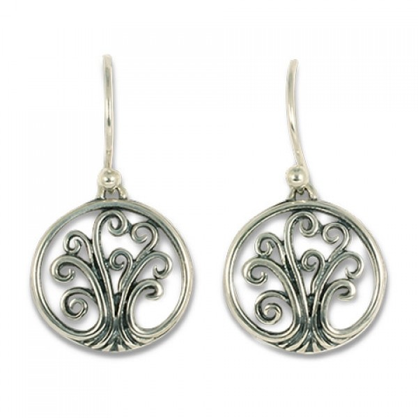 Tree of Life Earrings Mini