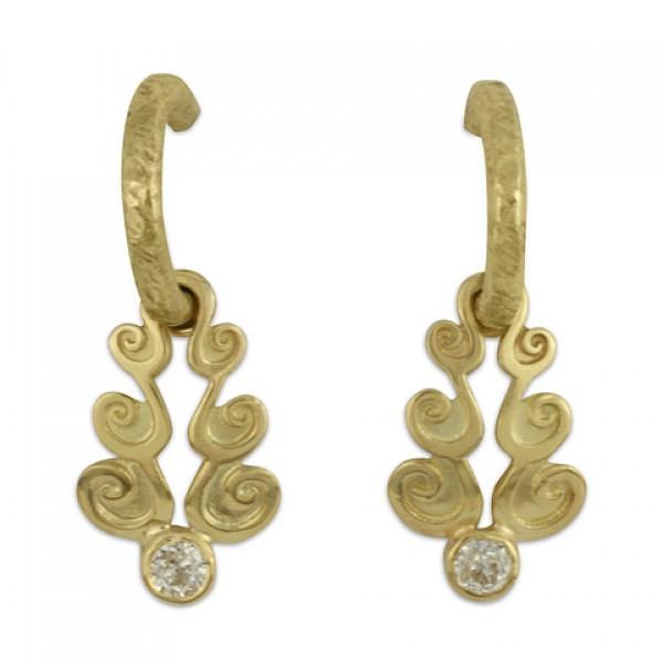 Cascade Gold Earrrings