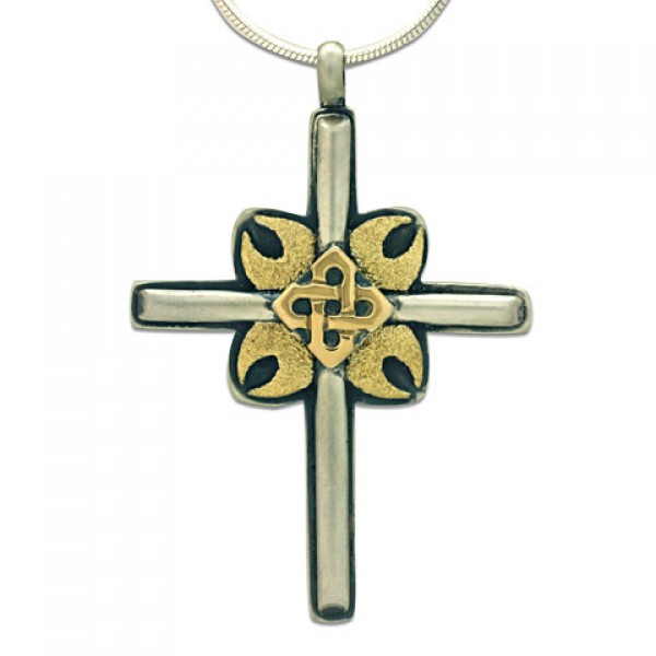 One-of-a-Kind Magda Cross Pendant