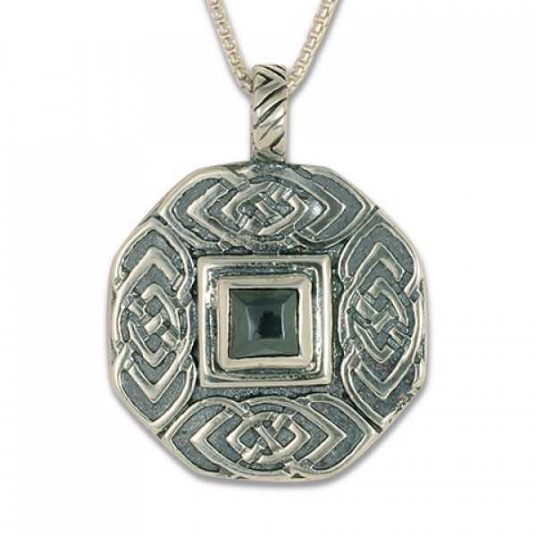 Skyler Pendant with Gem