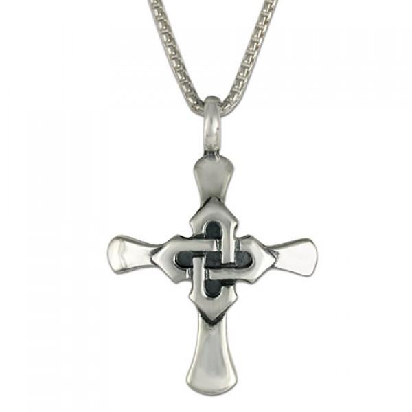 Kells Cross Pendant Silver