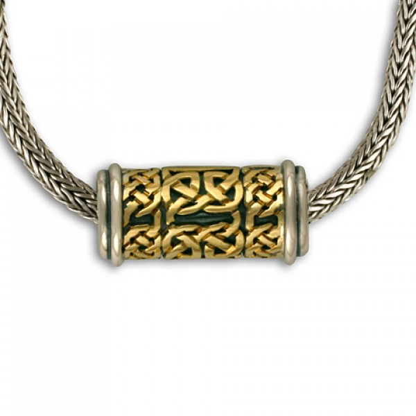 Byzantine Slider Gold over Silver