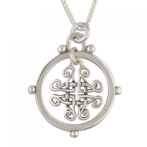 Taliesan Silver Pendant