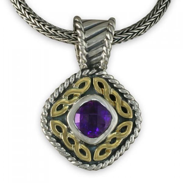 Athena pendant by celtic jewelry amethyst aloadofball Images