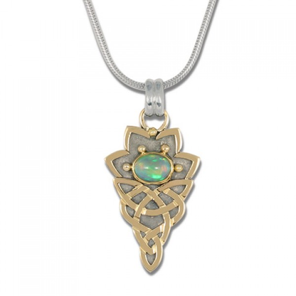 Neopolitan Pendant with Ethiopian Opal