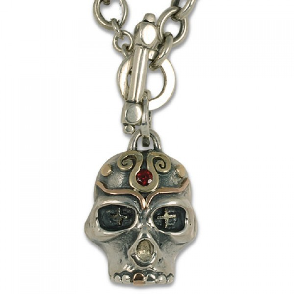 Eva Skull Necklace