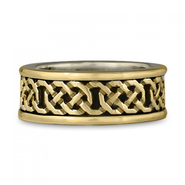 Shannon Ring Gold Borders and Design