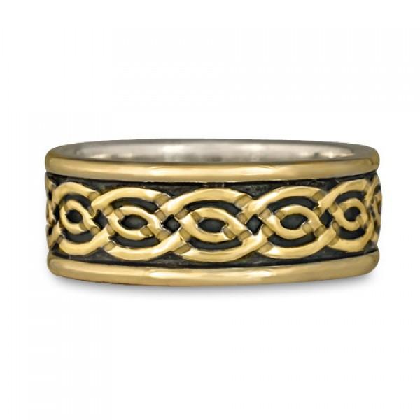 Bordered Laura Wedding Ring (GGG)