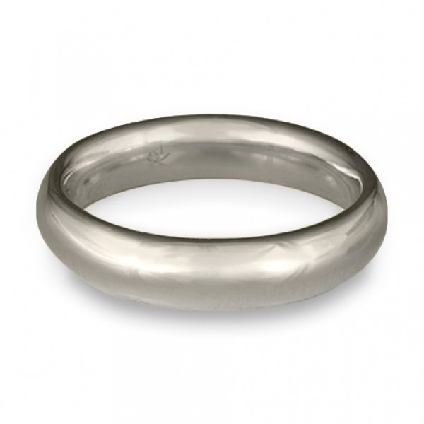 Classic Comfort Fit Wedding Ring Platinum, 5mm