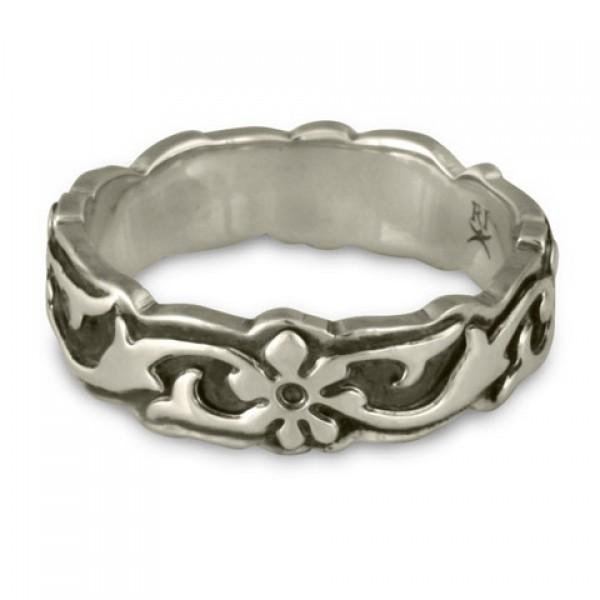 Persephone Borderless Ring Sterling Silver