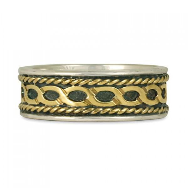 Rope Twist Wedding Ring (SGS)