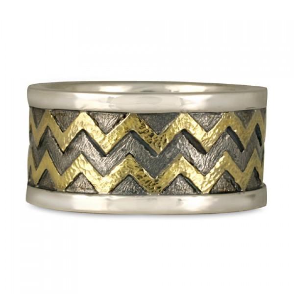 Zig Zag Jewellery: Zig Zag RIng By Celtic Jewelry