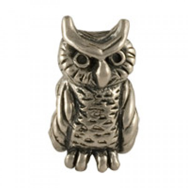 Great Horned Owl Bead