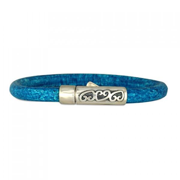 Heart Vine 5mm Leather Bracelet
