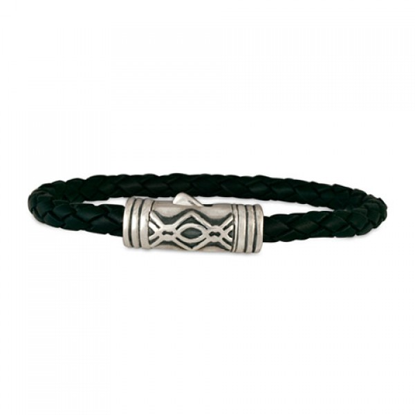 Pictish Leather Bracelet (Clasp)