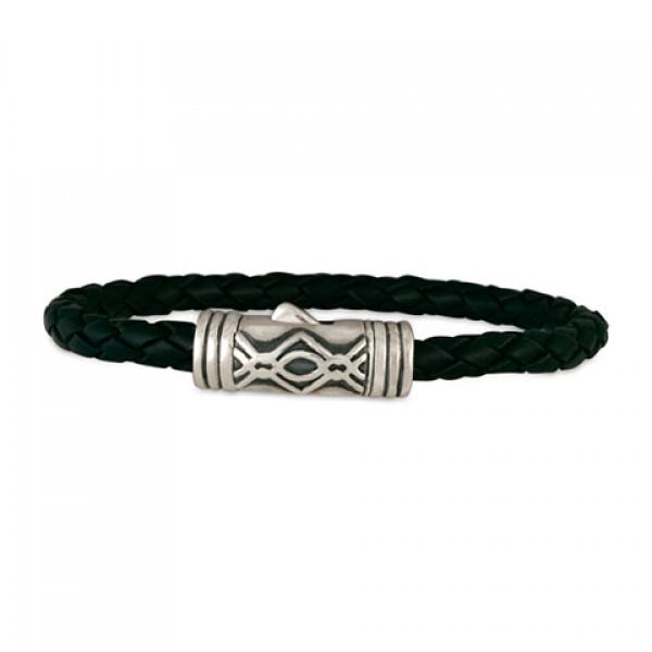 Pictish Leather Bracelet (Clasp)