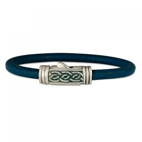 Laura Leather Bracelet (Clasp)
