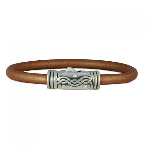 Wave Leather Bracelet
