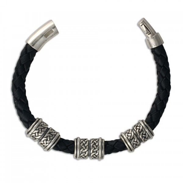 Arturo 8mm Leather Bracelet