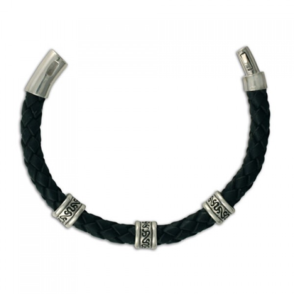 Animas 8mm Leather Bracelet