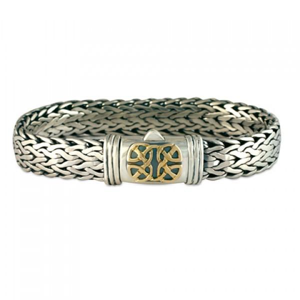 Scroll Chain Bracelet