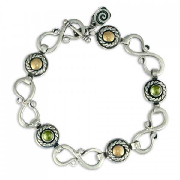 Seville Bracelet with Gems