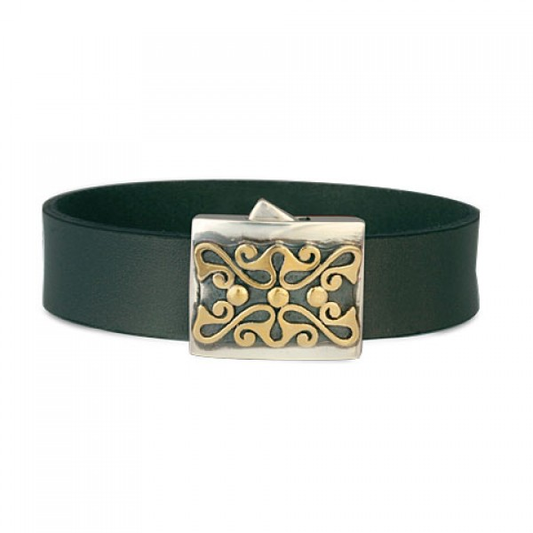 Prague Leather  Bracelet