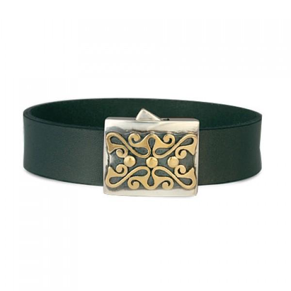 Prague Leather  Bracelet