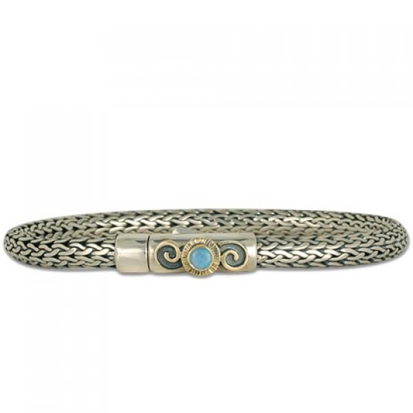 Spiral Opal Bracelet