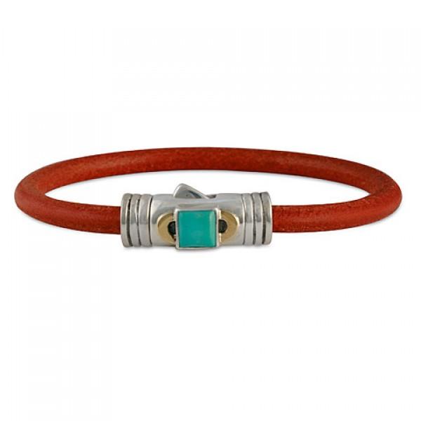 Portal Leather Bracelet