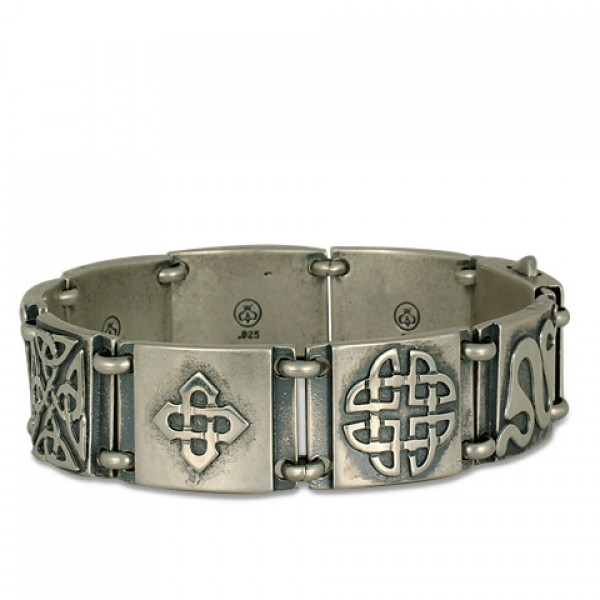 Industrial Celtic Bracelet 8.25""
