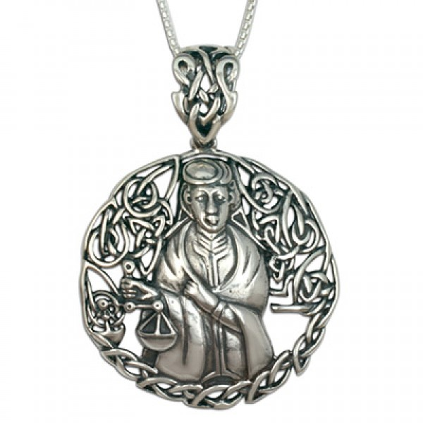 Libra the Scales Pendant (Large)