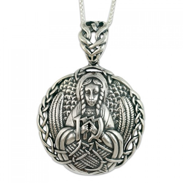 Virgo the Virgin Pendant (Large)