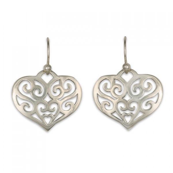 Collette Heart Earring
