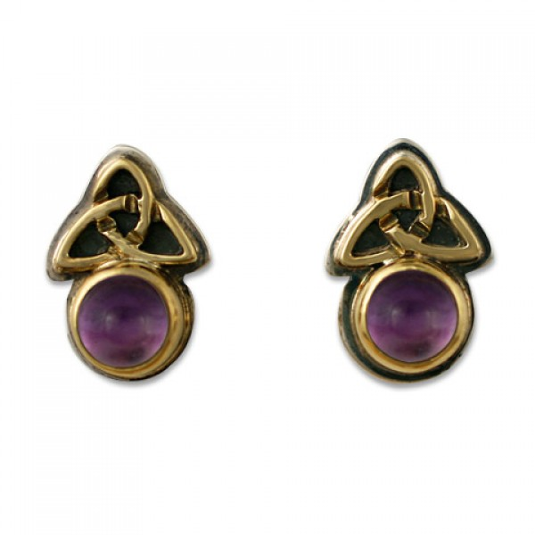 Aria Round Earrings