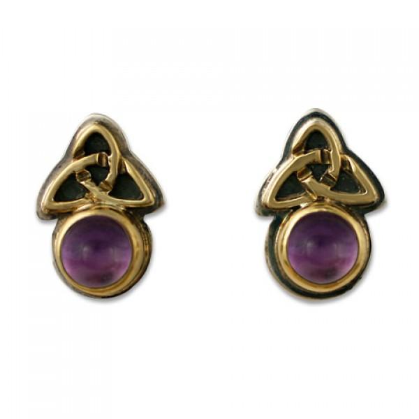 Aria Round Earrings