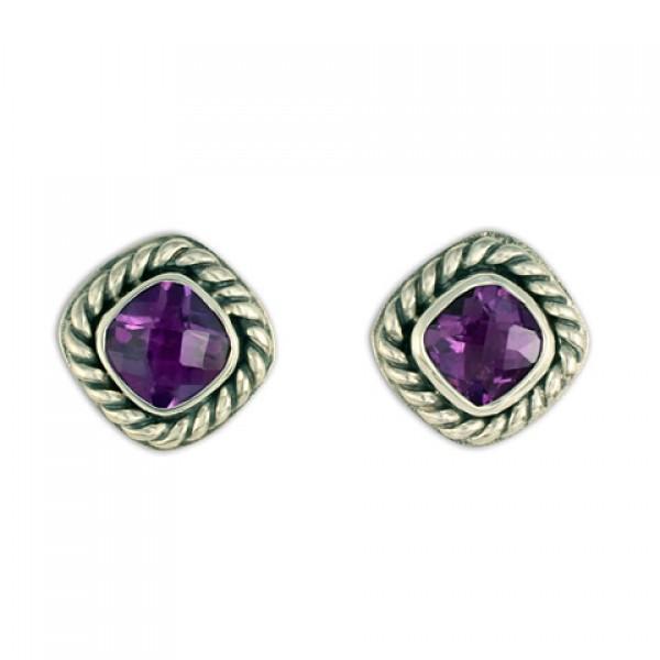 Athena Earrings Silver