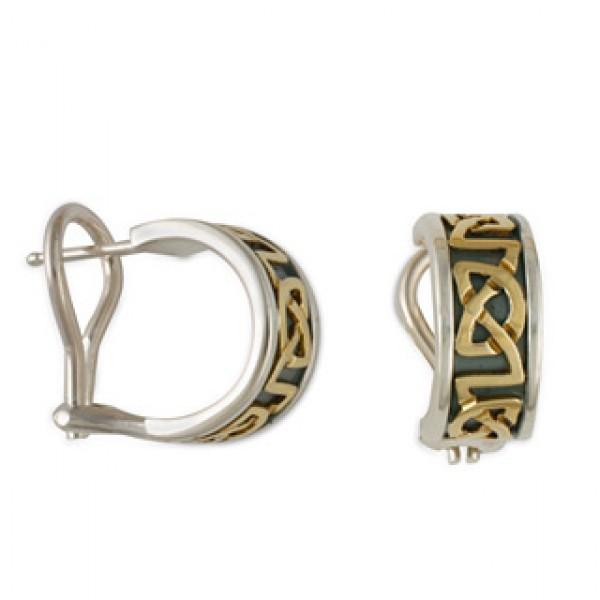 Heart Rope Earrings