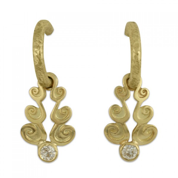 Cascade Gold Earrrings