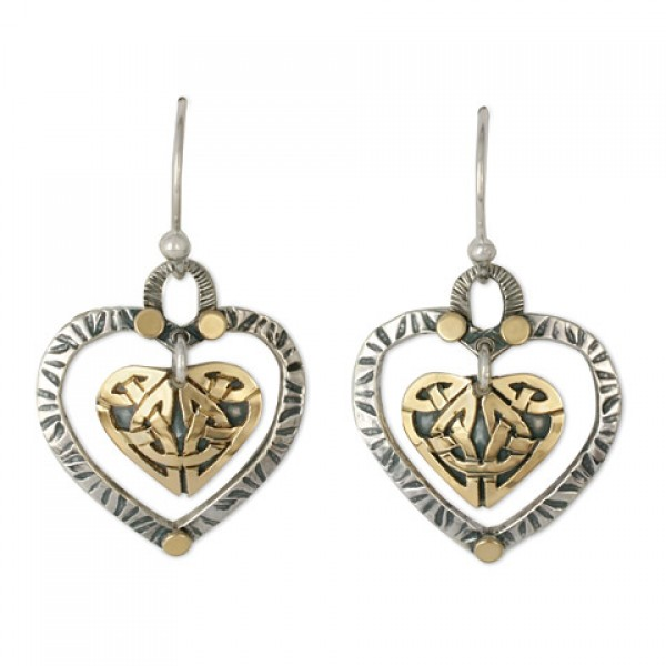 Taliesan Heart Earrings